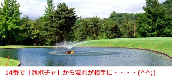 宝塚高原ゴルフ 14番ホール