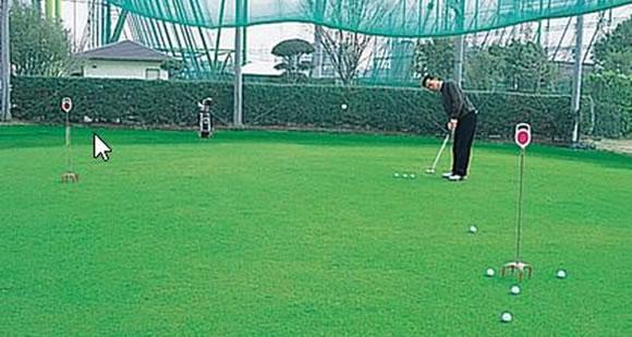アプローチ練習場 つるやゴルフ場