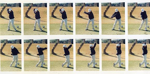 ゴルフスイングの基本 図解の画像