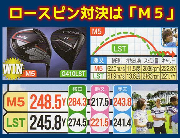 M5とG410LST