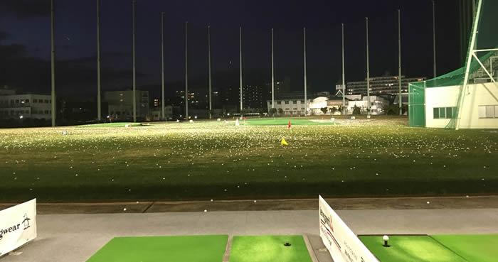 江坂ゴルフ練習場 画像